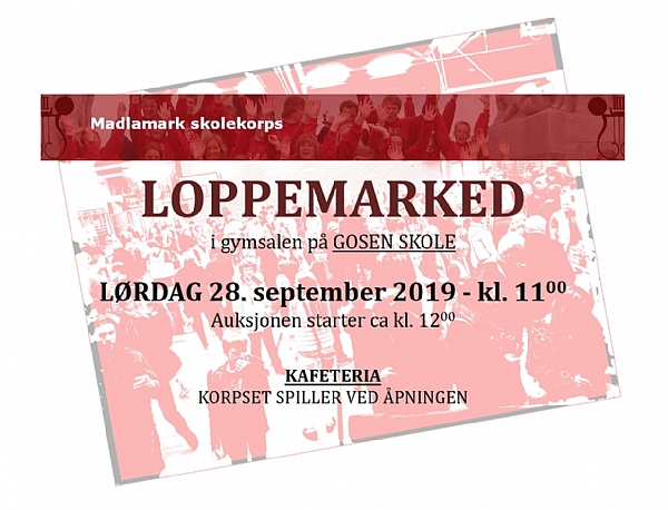 Loppemarked 2019